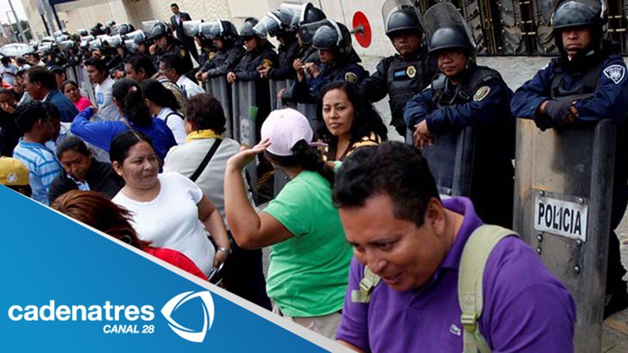 ltima hora marcha de maestros paraliza calles de la ciudad de m xico 11 de septiembre imagen noticias