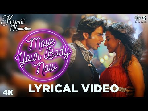 Move your Body Lyrical - Kismat konnection | Shahid Kapoor & Vidya Balan | Shaan, Hard Kaur