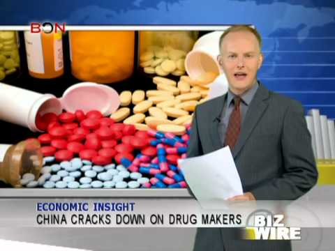 China cracks down on drug makers - Biz Wire - July 22,2013 - BONTV China