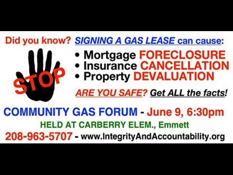 Citizens Allied for Integrity and Accountability Oil and Gas Forum