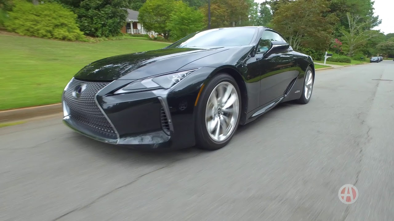 2018 Lexus Lc 500h Real World Review Autotrader Youtube