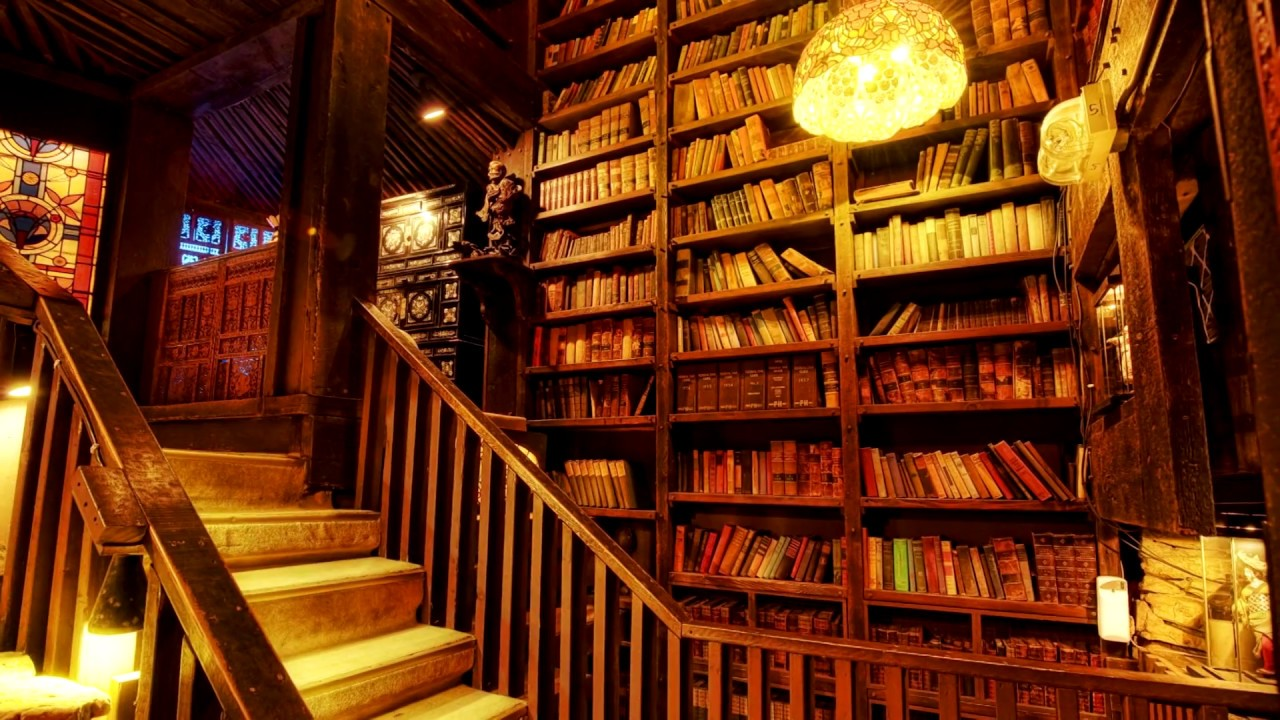 10+ Home Library Design Ideas - YouTube