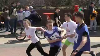 1 этап - команды школ (с 51места и ниже)-75 областная эстафета г.Ульяновск 2018г.