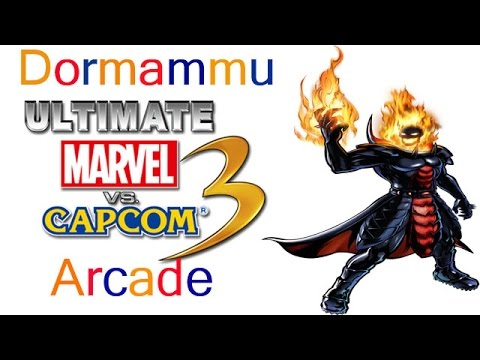 Ultimate Marvel VS Capcom 3 Arcade  Dormammu {& The Masked Villians Team}