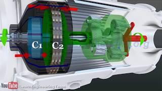 видео Гидромеханическая коробка передач: принцип работы и устройство