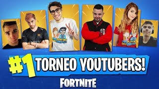 TORNEO CONTRO GLI YOUTUBERS IN LIVE! | Fortnite CHARITY EVENT! #ForzaBLAZE 🔴 Live Fortnite ITA