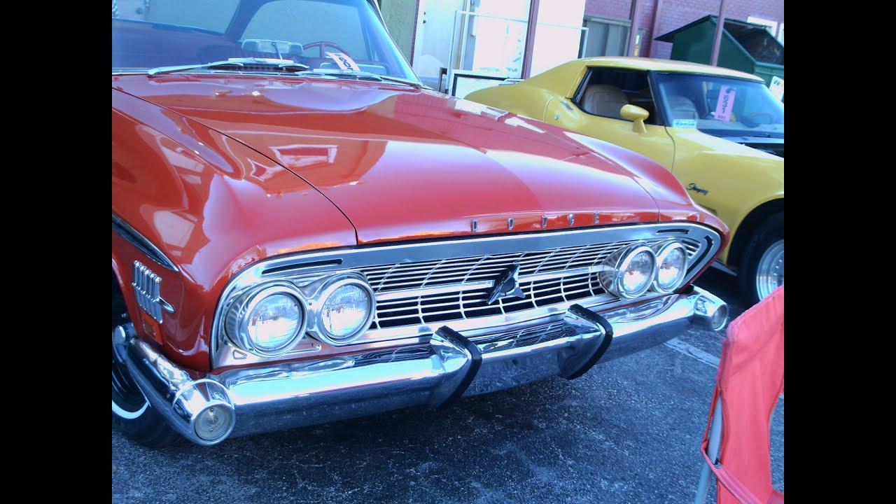 1962 dodge custom 880 two door hardtop redwht oldtown020715