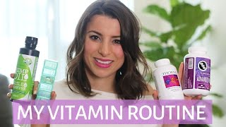 MY VITAMIN ROUTINE | Vitamins for STRESS & ANXIETY
