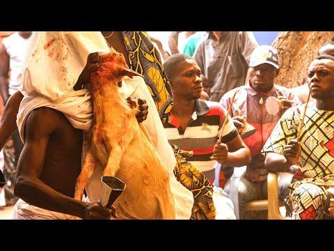 Voodoo Festival Ceremony #1 Ouidah Benin