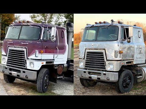 We tried to PATINA the 79 Cummins Cabover but its impossible