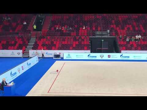 Чемпионат России 2019, Арисова Алина, обруч