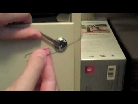 how to pick a file cabinet lock video 2
