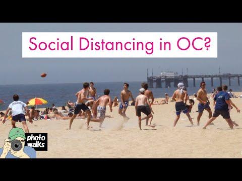 Coronavirus —Social Distancing In OC's Newport Beach And Huntington Beach?  Nah.