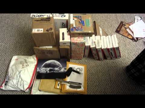 YouTube Christmas 2010!!! EPIC 30 PACKAGE UNBOXING (Long Version)
