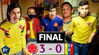 Colombia 3 Venezuela 0 | Eliminatorias Qatar 2022 Conmebol | Reacciones Amigos | Club de la Ironía