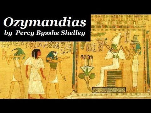 OZYMANDIUS by Percy Bysshe Shelley - FULL Poetry Recording -