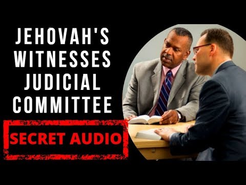 Secret Audio Inside Jehovah's Witnesses 'Judicial Committee' Meeting