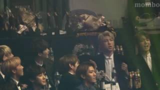 Video 170119 서울가요대상 방탄소년단 BTS 픽미업 드림걸즈 reaction(끝난 후 목이마른 세남자) download MP3, 3GP, MP4, WEBM, AVI, FLV April 2018
