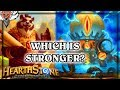 Which is Stronger? Cho or Mecha'Thun ~ Hearthstone The Boomsday Project