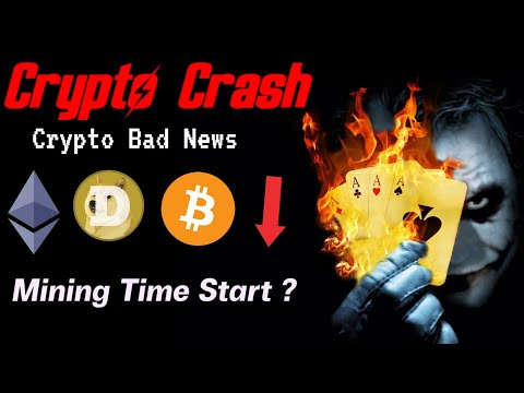 Crypto Market Crash Today | Crypto Mining Effected | Crypto News