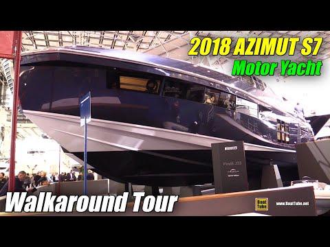 2018 Azimut S7 Luxury Yacht - Walkaround - 2018 Boot Dusseldorf Boat Show