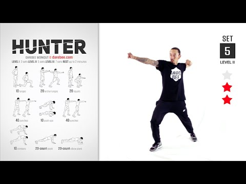 Hunter Workout [ FULL ] [ STRENGTH & TONE ] [ 40 MIN ]