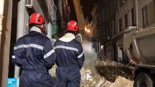 صدمة في فرنسا بعد مقتل أشخاص في انهيار مبان سكنية بمرسيليا