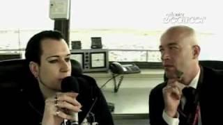 Interview (Teil4) Blutengel Unheilig Chris Pohl und Der Graf Mera Luna 2006