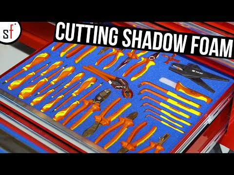 How to Cut SHADOW FOAM the ULTIMATE GUIDE!