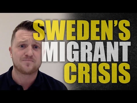 "Tommy Robinson: Sweden self-destructs for ""diversity"""