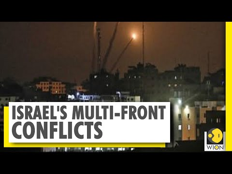 Israel Strikes Hamas Sites After Gaza Rocket Intercepted | WION | World News