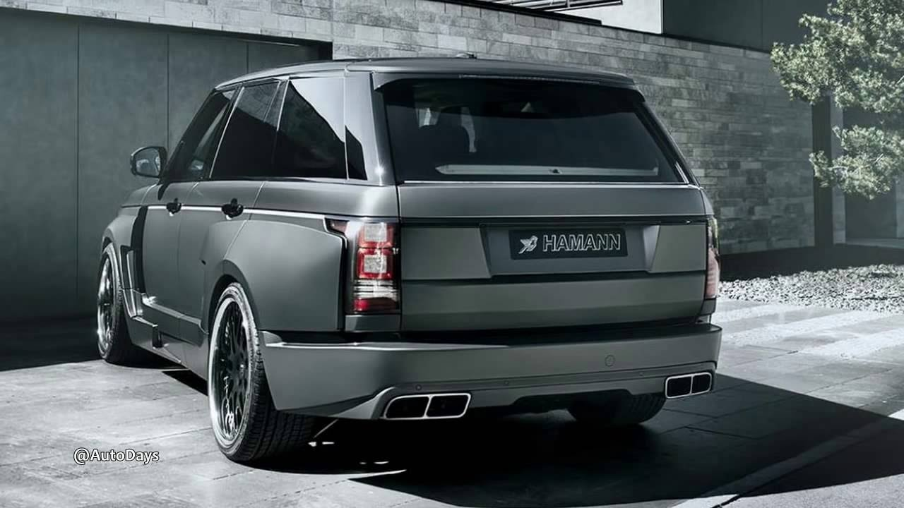 2014 hamann land rover range rover mystere interior and for Range rover exterior design package