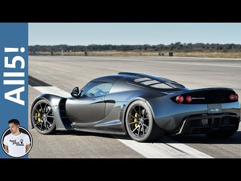 5 Fastest Production Cars In The World 2015!