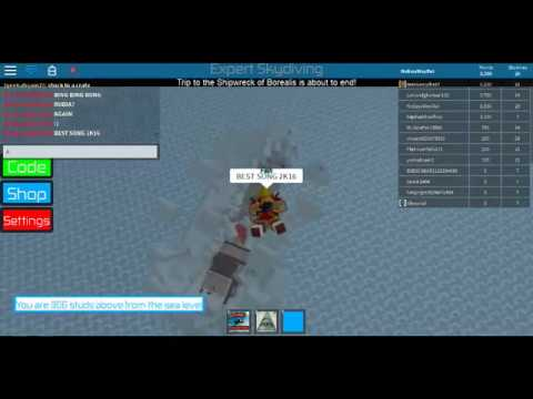 THE BEST SONG TO SKYDIVE TO IN ROBLOX