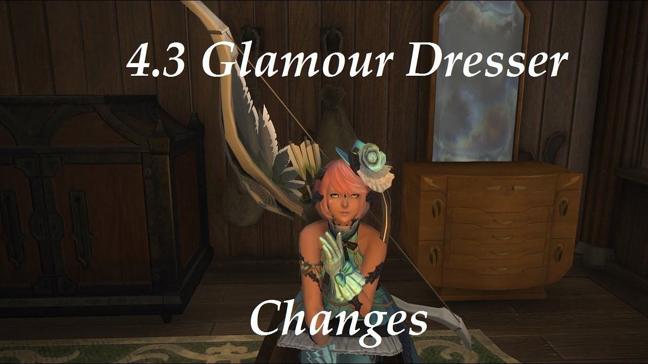 FFXIV: 4 3 Glamour Dresser Changes! by Meoni