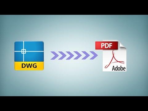 Как конвертировать файлы формата dwg в формат PDF с помощью сервиса Zamzar