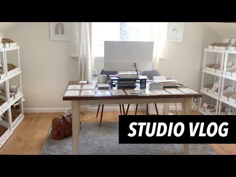 Studio Vlog | Etsy Orders