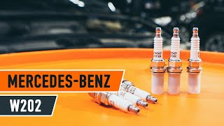 Kuinka vaihtaa sytytystulpat MERCEDES-BENZ C W202 -merkkiseen autoon OHJEVIDEO | AUTODOC