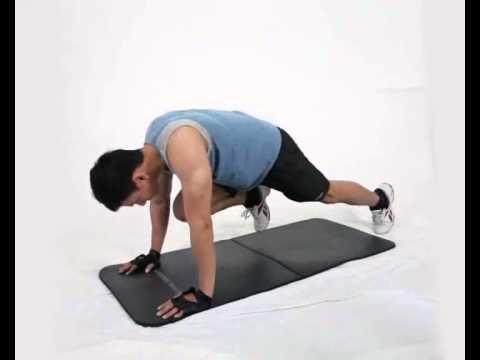 Gerakan Latihan Otot Paha - Mountain Climber