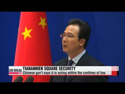 Chinese gov't detain dozens, block media ahead of Tiananmen Square anniversary