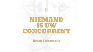 Niemand is uw concurrent (official lyric video)