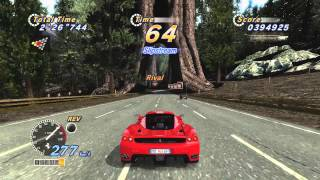 OutRun Online Arcade -XBOX360 Gameplay