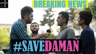 Breaking News #savedaman | DUDE SERIOUSLY