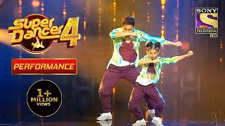"Aryan And Anshika ने दिया ""Apsara Aali"" पे Amazing Performance | Super Dancer 4 | सुपर डांसर 4"