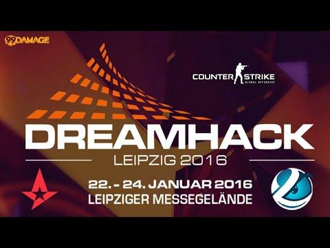 Astralis vs. Luminosity | Halbfinale, DreamHack Leipzig 2016 | de_train Map 1