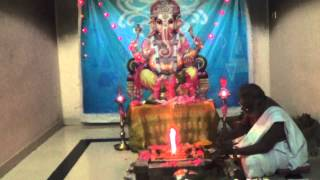 Trailokya and Mohana ganapathy Homam Part 1