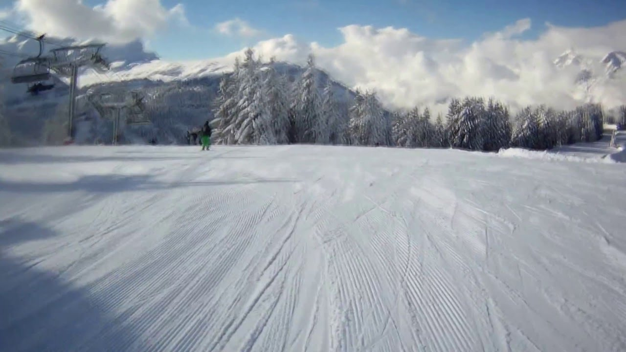 Ski #3 Les Carroz D\'araches 2016 - #2 - YouTube