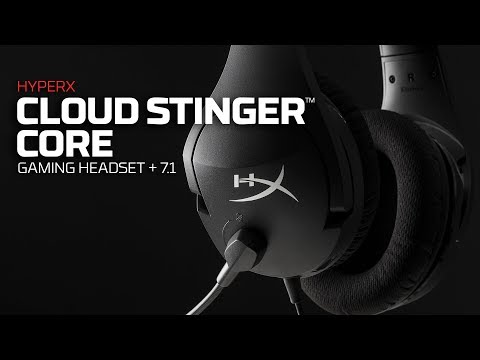 Cloud Stinger Core + 7.1 Surround Sound – HyperX Wired Gaming Headset