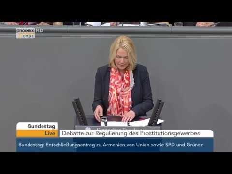 Bundestag: Debatte zur Regulierung des Prostitutionsgewerbes am 02.06.2015