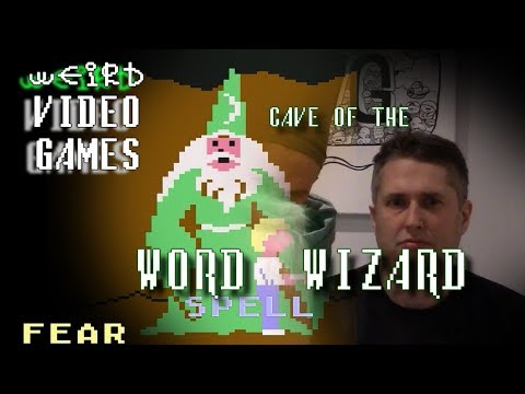 Weird Video Games - Cave of the Word Wizard (Commodore 64)